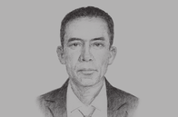 Sketch of <p>Arjun Bahadur Thapa, Secretary-General, South Asian Association for Regional Cooperation (SAARC)&nbsp;</p>