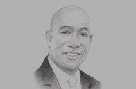 Sketch of <p>Prime Minister Keith Rowley</p>