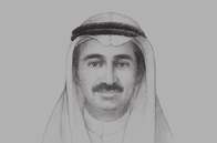 Sketch of <p>&nbsp;Yousef Mohammed Al Ali, Minister of Commerce and Industry</p>