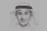 Sketch of <p>Nayef Al Hajraf, Chairman and Managing Director, Capital Markets Authority (CMA)</p>