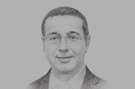 Sketch of <p>&nbsp;Mohammed Boussaid, Minister of Economy and Finance</p>