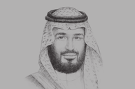 Sketch of <p>&nbsp;Deputy Crown Prince Mohammed bin Salman bin Abdulaziz Al Saud, Chairman, Council of Economic and Development Affairs</p>