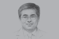 Sketch of <p>Dr Myung-Whun Sung, CEO, Sheikh Khalifa Specialty Hospital (SKSH)</p>