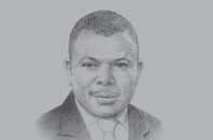 Sketch of <p>&nbsp;Laoye Jaiyeola, CEO, Nigerian Economic Summit Group (NESG)</p>