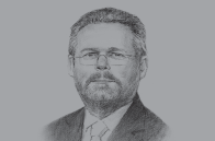 Sketch of <p>Rob Davies, Minister of Trade and Industry&nbsp;</p>